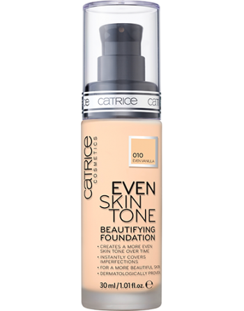 CATRICE Fond de teint Even Skin Tone Beautifying Even Vanilla